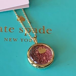 Kate Spade! Dancing Heart Pendant Necklace
